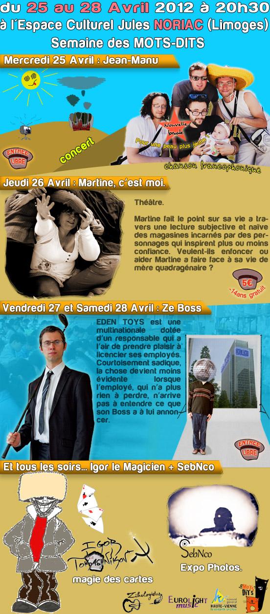 Programme Noriac 2012