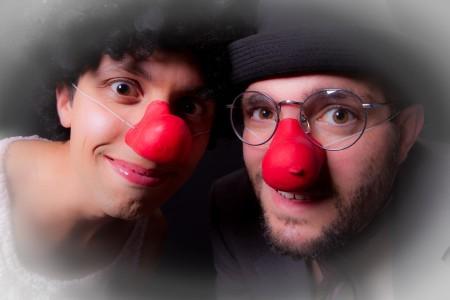 ils se transforment… en clown