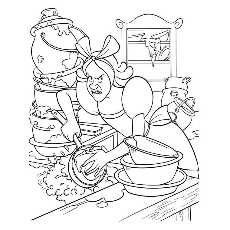coloriage-vaisselle